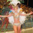Paolla Oliveira foi rainha de bateria da Grande Rio no Carnaval de 2009