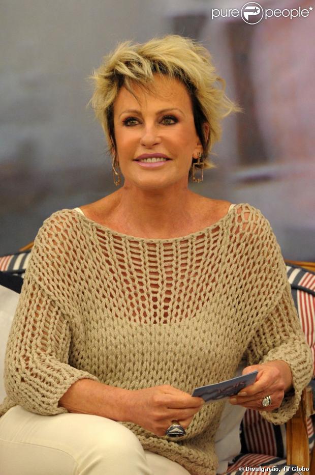 Ana Maria Braga já está em casa após ser atropelada em gravação de programa: 'Espero estar bem'