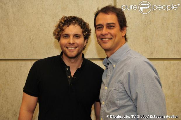 Thiago Fragoso e Marcello Antony esperam que o público acolha Niko e Eron, casal gay que viverão em 'Amor à Vida', a partir de 20 de maio de 2013