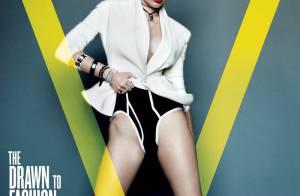 Miley Cyrus posa sexy para três capas da mesma revista e desmente fim de noivado