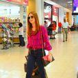 Marina Ruy Barbosa embarcou no Aeroporto Santos Dumont nesta sexta-feira, 10 de abril de 2015