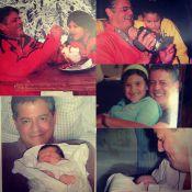 Giulia Costa, filha de Flávia Alessandra e Marcos Paulo, homenageia o pai morto