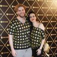 Thiago Fragoso e Mariana Vaz assistem ao show da Madonna
