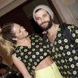 Giovanna Ewbank e Bruno Gagliasso posam juntos no show da Madonna