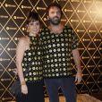 Fernanda Abreu e o novo namorado, o músico Tuto Ferraz, assistem ao show da rainha do pop no Rio, em dezembro de 2012