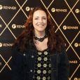 A cantora Ana Carolina marca presença no show da rainha do pop