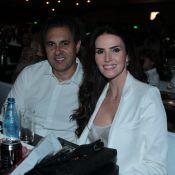 Lisandra Souto retoma namoro com Gustavo Fernandes e casal vai a show no Rio