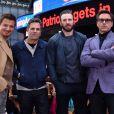 Elenco do filme 'Vingadores: Era de Ultron' posam em divulgação do longa, em Nova York