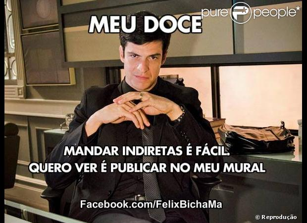 ... de Félix (Mateus Solano) em 'Amor à Vida' viram hit na internet