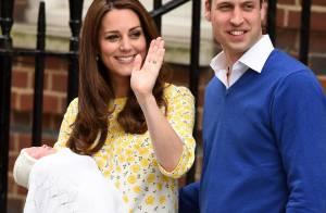 Kate Middleton deixa maternidade e mostra rosto da filha 10 horas após dar à luz