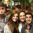 Giovanna Lancellotti publicou foto com a 'Família Pereira': 'Meus amores, minha família Pereira, minha família eterna do coração! GRATIDÃO! Por todas as risadas, por todos os aprendizados, por todos os conselhos, por terem me acolhido tão bem'