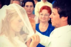 Carolina Dieckmann e marido comemoram aniversário de casamento: '8 anos do sim'