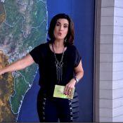 Fátima Bernardes confunde cidade de fotógrafo e se desculpa na TV: 'Errei'