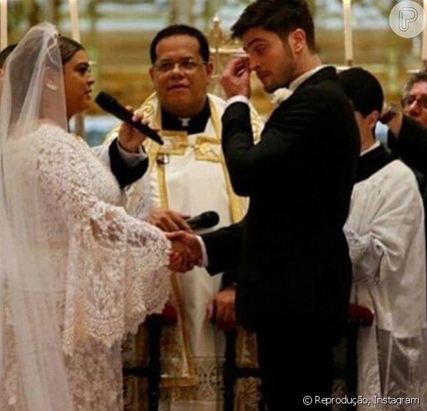 Rodrigo Godoy está em êxtase por ter se casado com Preta Gil. 'Felicidade me consome! Foi simplesmente INCRÍVEL', declarou o personal trainer na legenda da foto publicada em seu Instagram nesta quarta-feira, 13 de maio de 2015