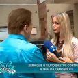 A modelo transex Thalita Zampirolli pediu um programa infantil na emissora de Silvio Santos