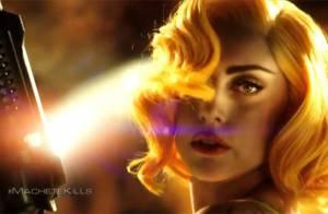 Lady Gaga aparece armada em trailer de seu primeiro filme, 'Machete Kills'