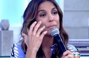 Ivete Sangalo chorou e falou com Angélica após acidente: 'Agora é só farra'