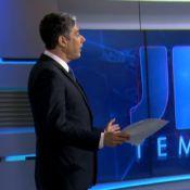 William Bonner repreende a repórter Maria Júlia Coutinho no 'JN': 'Calma!'