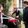 Félix (Mateus Solano) discute com o filho e coloca Jonathan (Thalles Cabral) de castigo trancado no armário, em 'Amor à Vida'