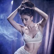 Maria Casadevall posa sexy e mostra curvas em ensaio de lingerie