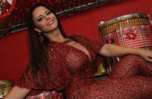 Carnaval 2016: Viviane Araújo aposta em macacão para 1º ensaio do Salgueiro