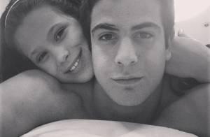Cláudia Raia posta foto dos filhos e se declara: 'Meus dois amores. Amo!'
