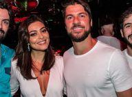 Juliana Paes curte festa gay com o marido e se empolga ao som de Daniela Mercury