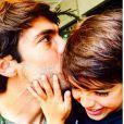 Kaká também foi só elogios ao primogênito, Luca, que completa 7 anos nesta quarta-feira, 10 de junho de 2015