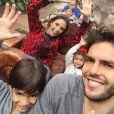 """No início do ano Carol Celico, Kaká e os filhos Luca, 7 anos e Isabellam, 4 anos, viajaram juntos para a Disney: """"Só diversão"""""""