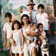 No cinema, Dira Paes viveu Helena, a mãe de Zézé di Camargo e Luciano, no longa chamado '2 Filhos de Francisco', em (2005)