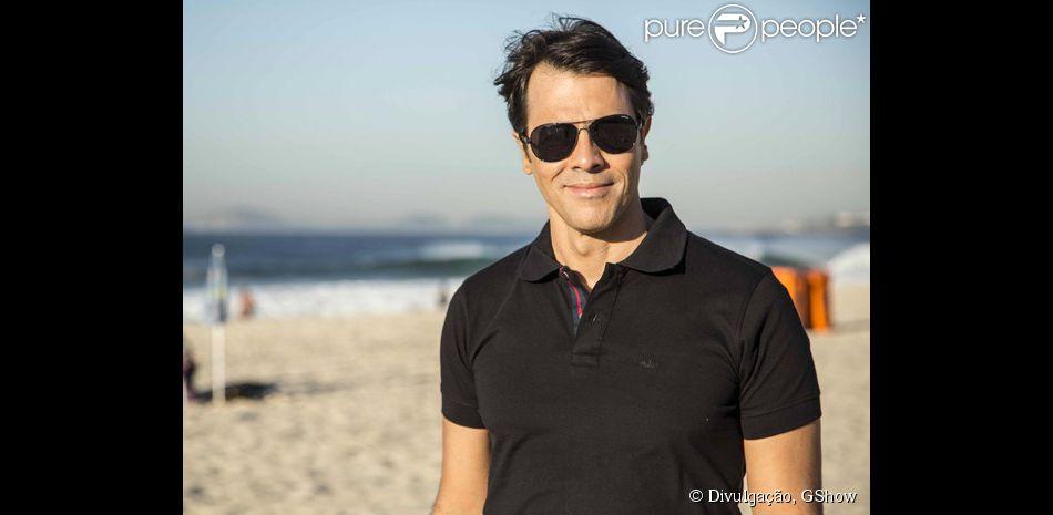 Claudio Lins grava as primeiras cenas como Sérgio, personagem gay da novela 'Babilônia', nesta quinta, 11 de junho de 2015