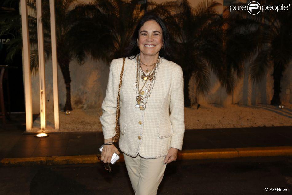 Regina Duarte vai reencontrar antigo namorado, na novela 'Sete Vidas', diz a jornalista Regina Rito, do jornal 'O Dia', desta sexta-feira, 12 de junho de 2015