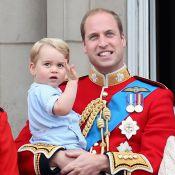 Príncipe George rouba a cena no aniversário da Rainha Elizabeth II. Veja fotos!