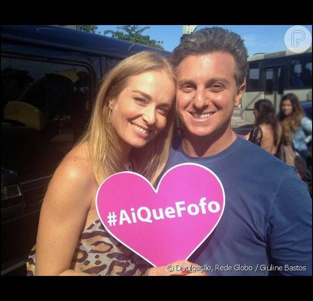 """Luciano Huck chamou Angélica para fazer participação no """"Caladeirão"""" do Dia dos Namorados"""