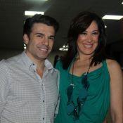 Após 'Salve Jorge', Claudia Raia e namorado vão a seminário sobre tráfico humano