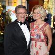 Marcos Paulo e sua esposa Antonia Fontenelle em evento