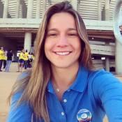 Fernanda Gentil, de jornalista a musa da Copa das Confederações