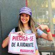 Juliana Paiva intepreta a periguete Fatinha em 'Malhação'