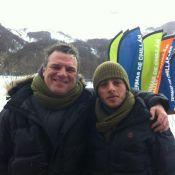 Adriano Garib curte folga no Chile com o filho de 18 anos: 'Repondo as energias'