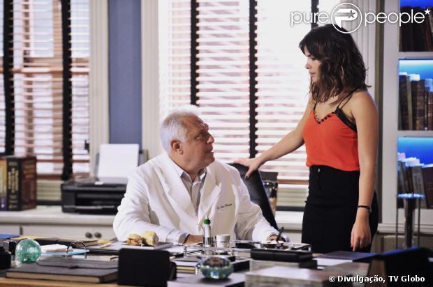 Em 'Amor à Vida', Aline (Vanessa Giácomo) se aproximou de César para se vingar da morte da mãe