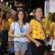 Em conversa no programa 'Encontro com Fátima Bernardes', a atriz falou que está tranquila em relação ao primeiro namorado da filha: 'Estou preparada, sim, para o namoro da Giulia'