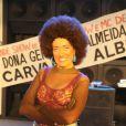 Lilia Cabral viveu uma funkeira para o programa 'Casseta e Planeta Urgente', em setembro de 2010