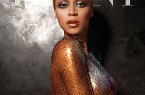 Beyoncé aparece nua coberta de glitter e fala sobre entrar no clima: 'Um vinho'
