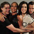 Fabio Assunção, Andréa Beltrão, Fernanda Torres e Vladimir Brichta integram o elenco principal de 'Tapas & Beijos'