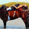 Nas redes sociais, Maria Paula Maia demonstração sua paixão pelos cavalos