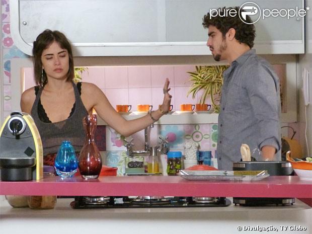Maria Casadevall não está vivendo romance com Caio Castro: 'Isso é uma mentira', em 18 de julho de 2013