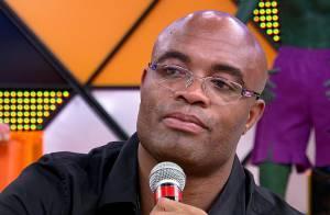 Anderson Silva chora ao falar da derrota e nega fraude: 'Represento o meu país'