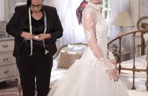 'Amor à Vida': Nicole passa mal ao tirar medidas para o vestido de noiva