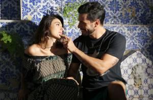 Isis Valverde posa em clima de romance ao lado do namorado, Uriel Del Toro