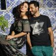 Isis Valverde e seu namorado, Uriel Del Toro, foram clicados para a campanha de verão da grife Zinzane. As fotos foram feitas no Rio de Janeiro neste domingo, 13 de setembro de 2015